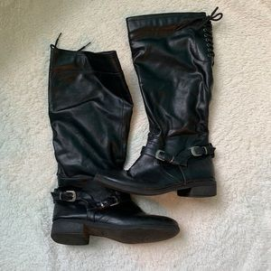 271c8af54 XOXO Lace Up Boots for Women   Poshmark